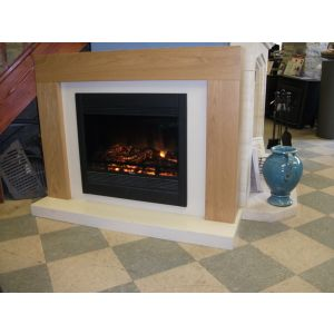 Atlantica Electric Fire and Fire Surround