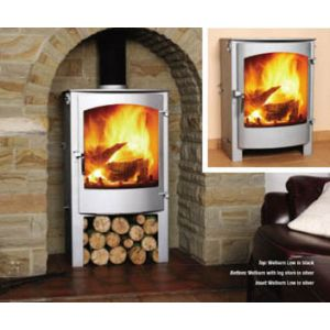 Town and Country Welburn with log store - Multi-fuel Stove