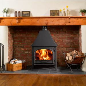 Stockton 11 Multi-Fuel Stove High Canopy