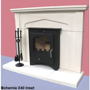 Pevex X40 Bohemia Inset Multifuel Stove (Defra Approved)