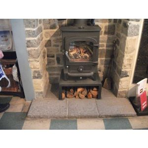 Bespoke Fireplace  - Flat Blue Lias Reproduction Hearth