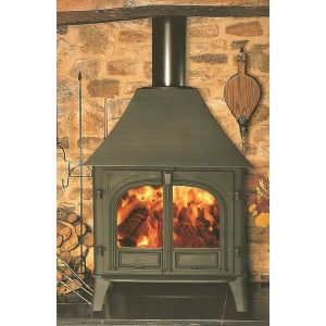 Stockton 8 wood burning Stove High Canopy